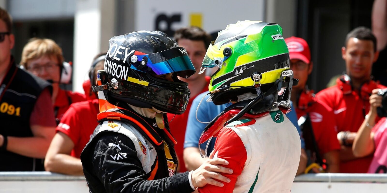 Joey Mawson, Mick Schumacher, F4 ADAC 2016