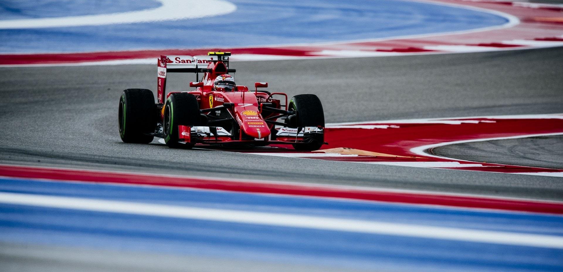 Kimi Räikkönen GP EE.UU 2015