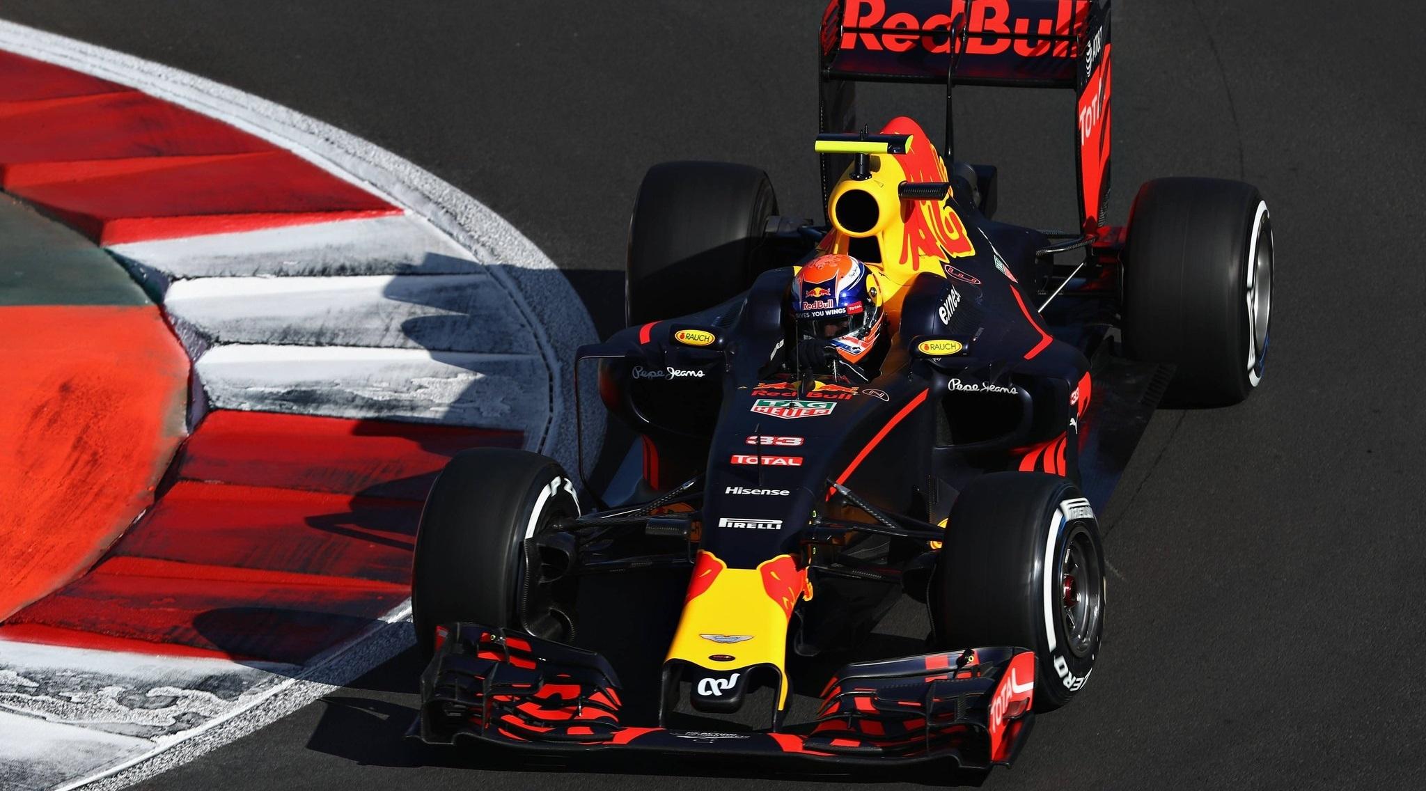 Max Verstappen GP México 2016