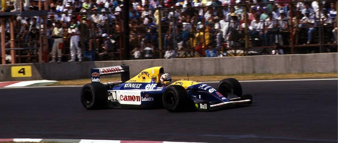 Nigel Mansell GP México 1992