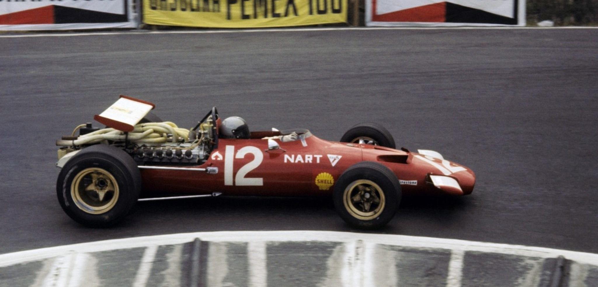 Pedro Rodríguez GP México 1969