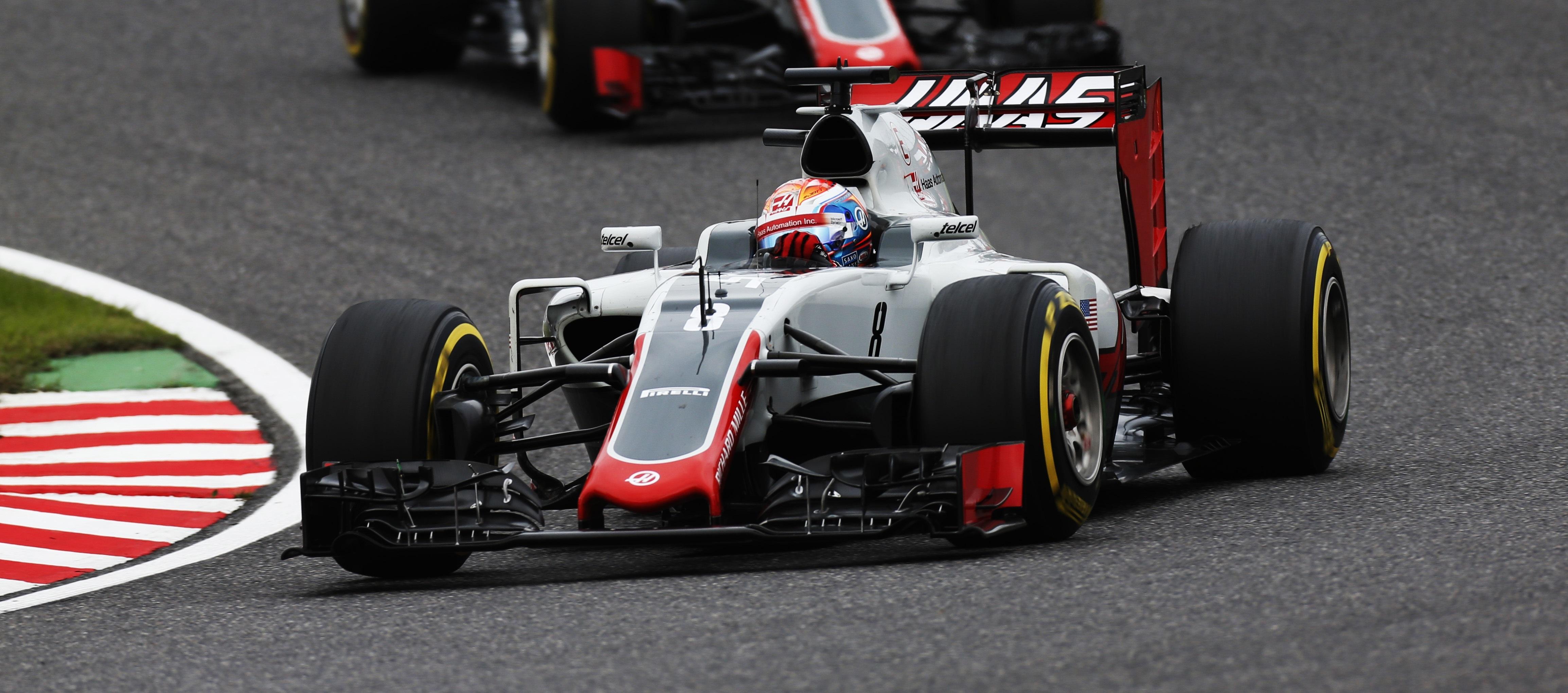 Romain Grosjean 2016