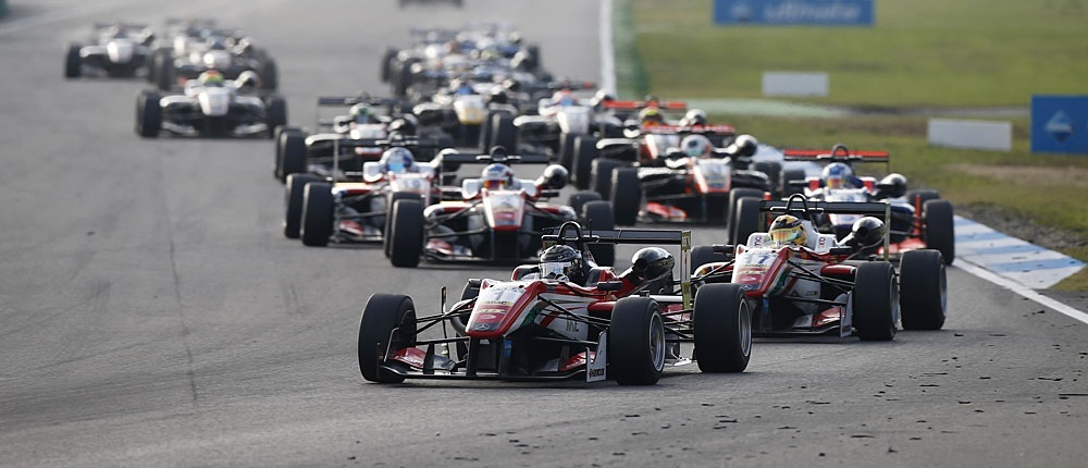 Salida F3 Europa Hockenheim 2016