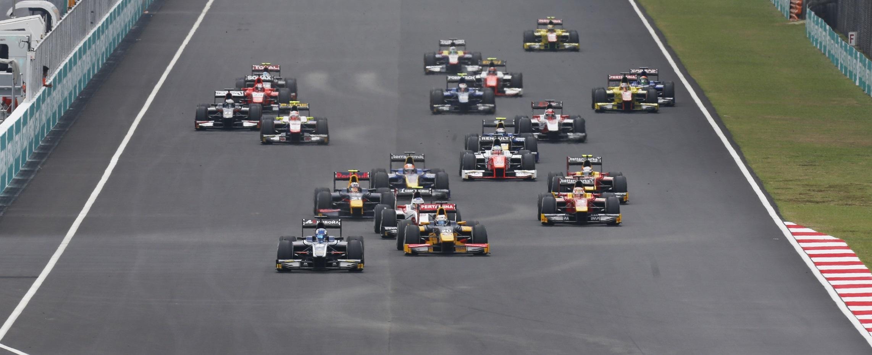 Salida GP2 Sepang 2016