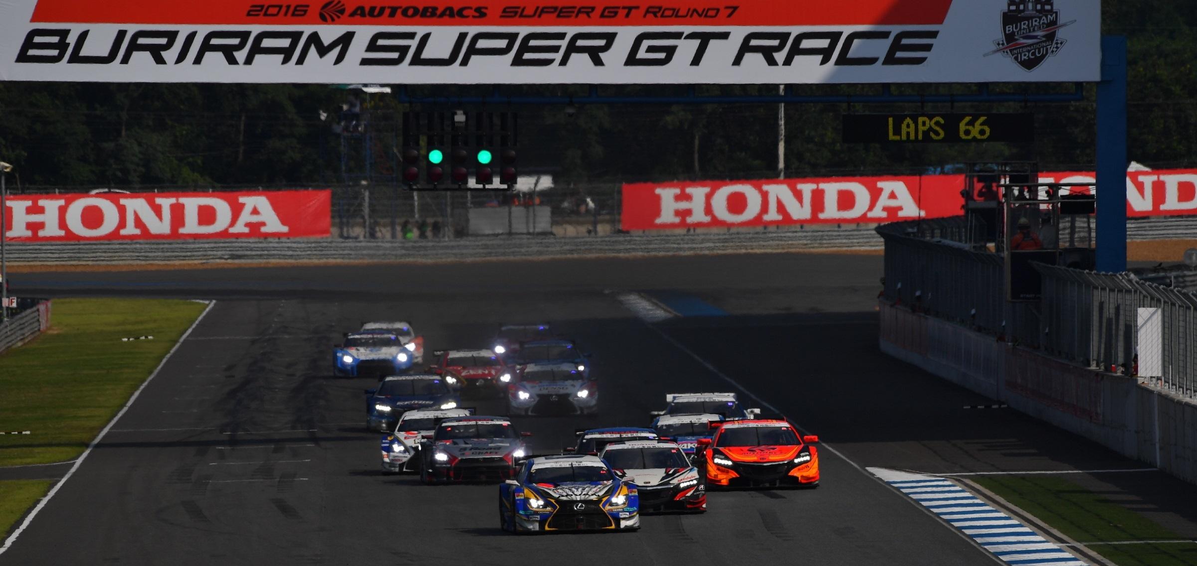 Salida Super GT Buriram 2016
