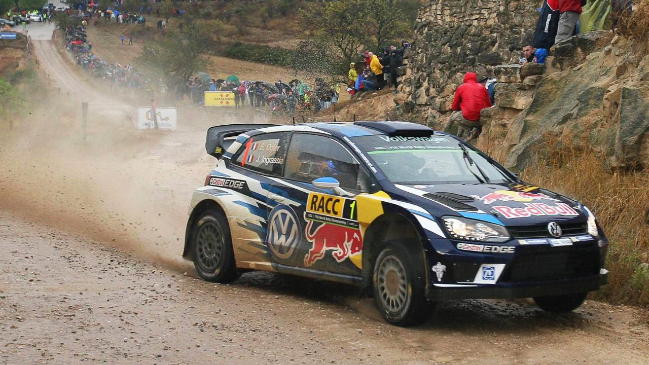 Sébastien Ogier Rally Catalunya 2016 Viernes