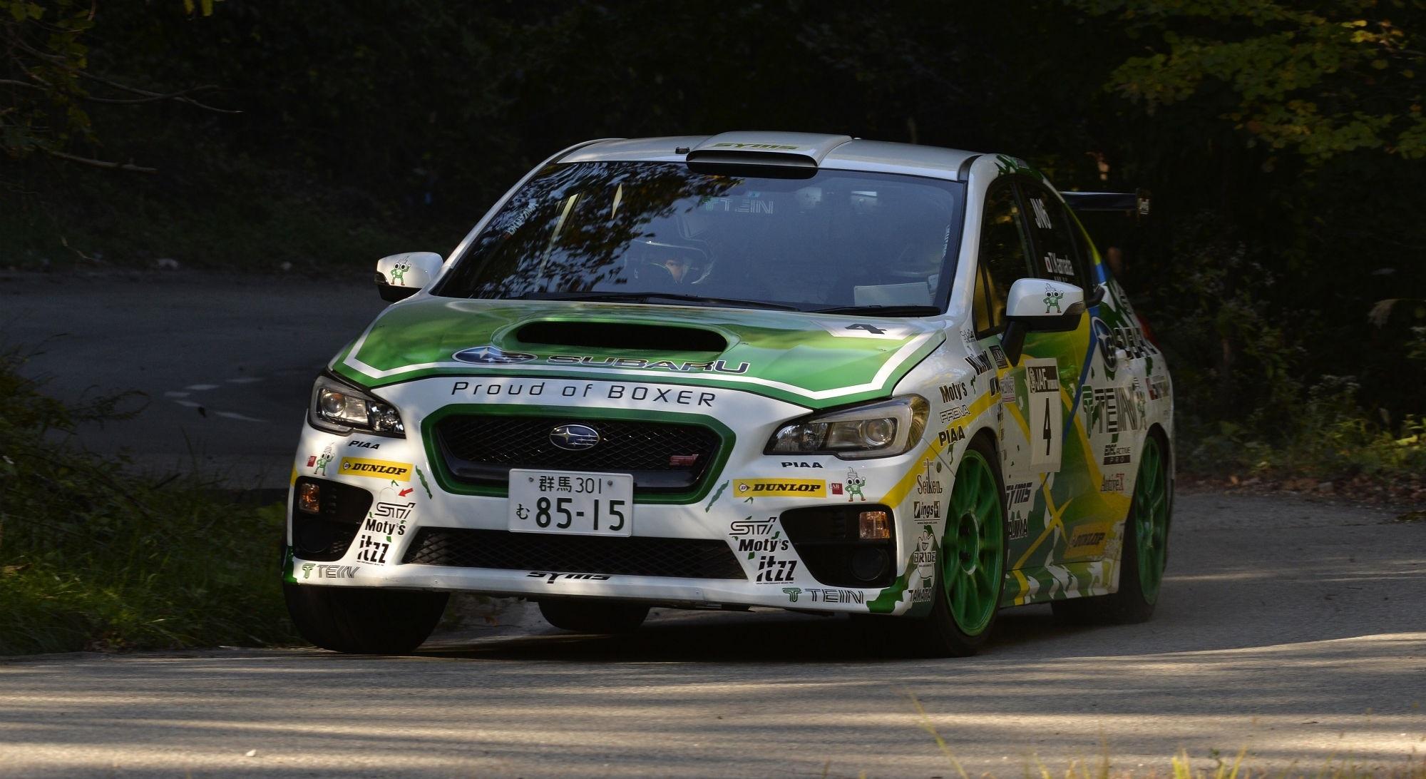 Takuma Kamada M.C.S.C. Rally Highalnd Masters 2016