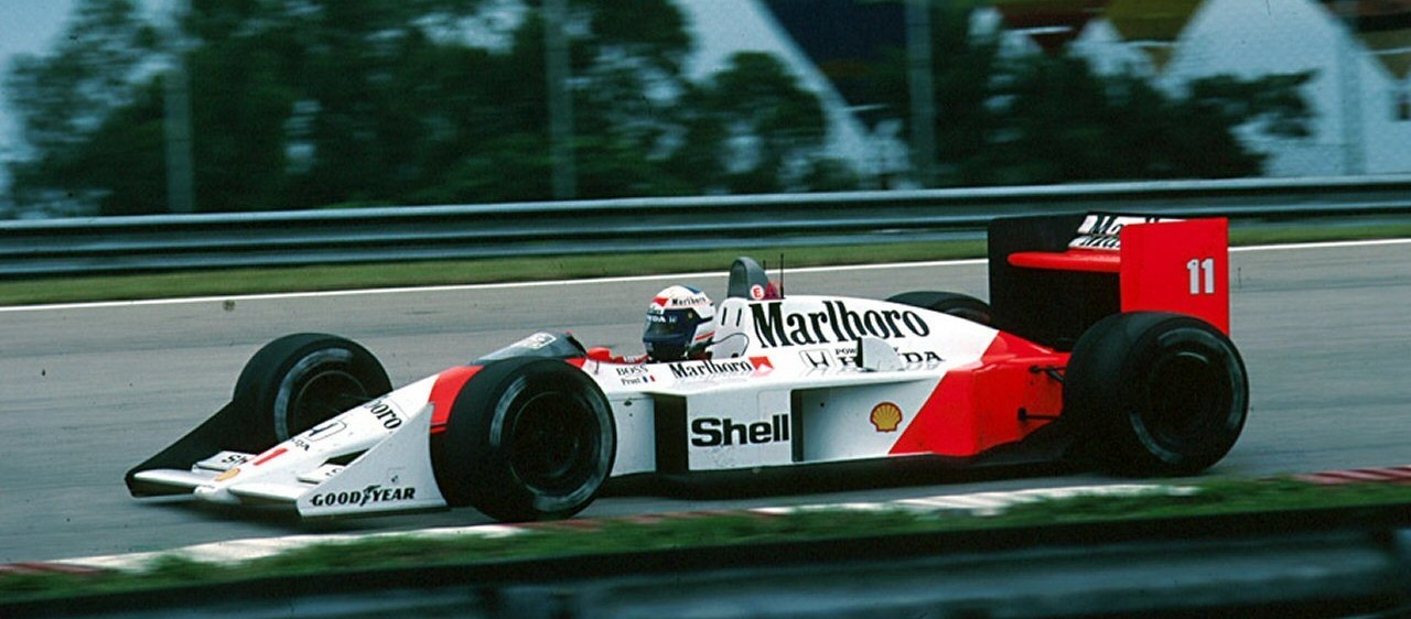 Alain Prost GP Brasil 1988