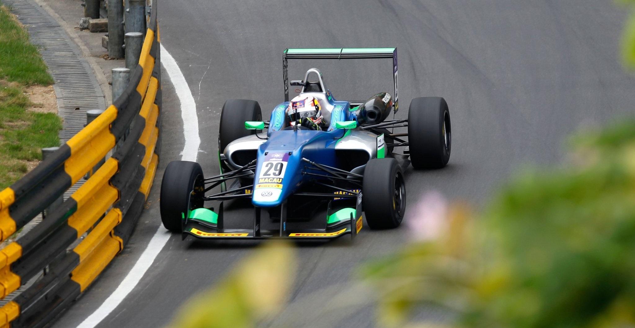António Félix da Costa GP Macao F3 2016