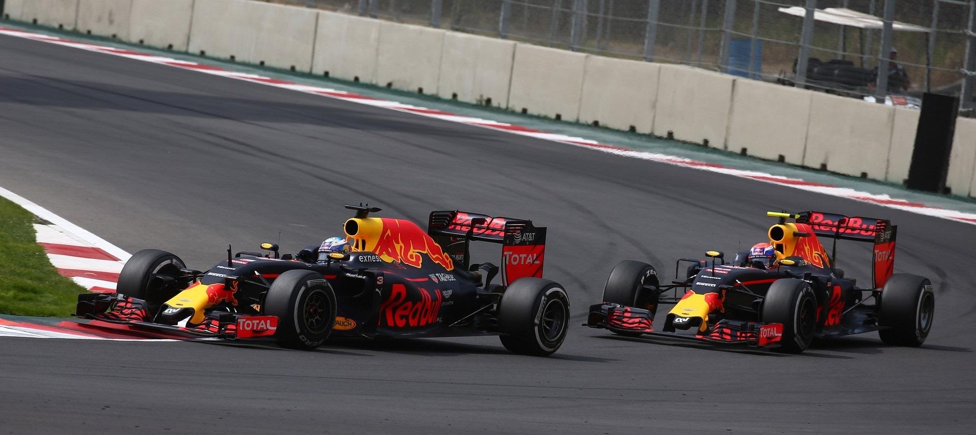 Daniel Ricciardo GP México 2016