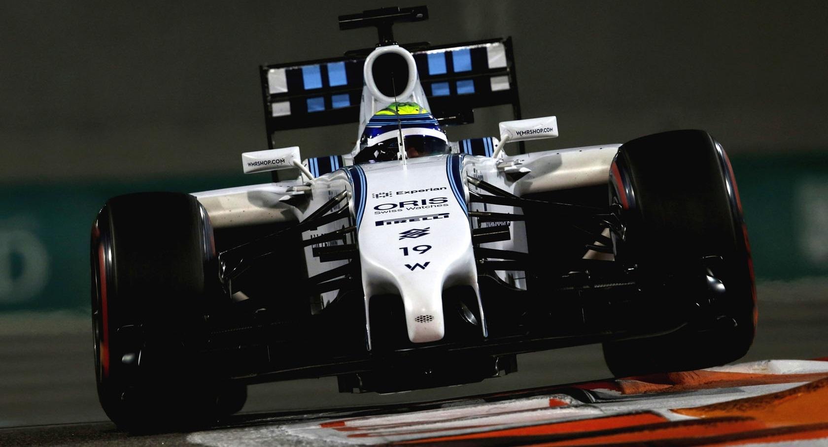 Felipe Massa GP Abu Dhabi 2014