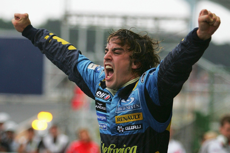 Fernando Alonso GP Brasil 2005
