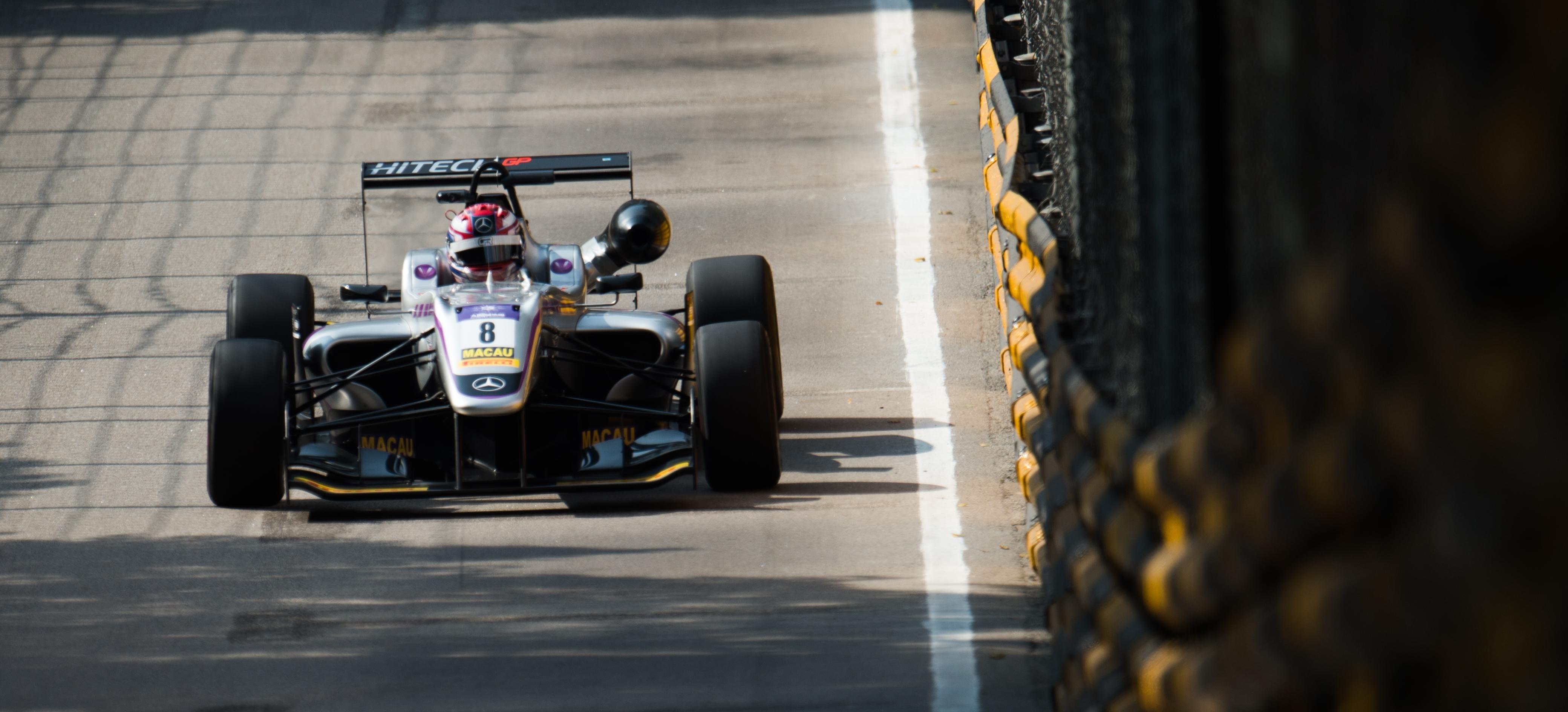 George Russell GP Macao F3 2016