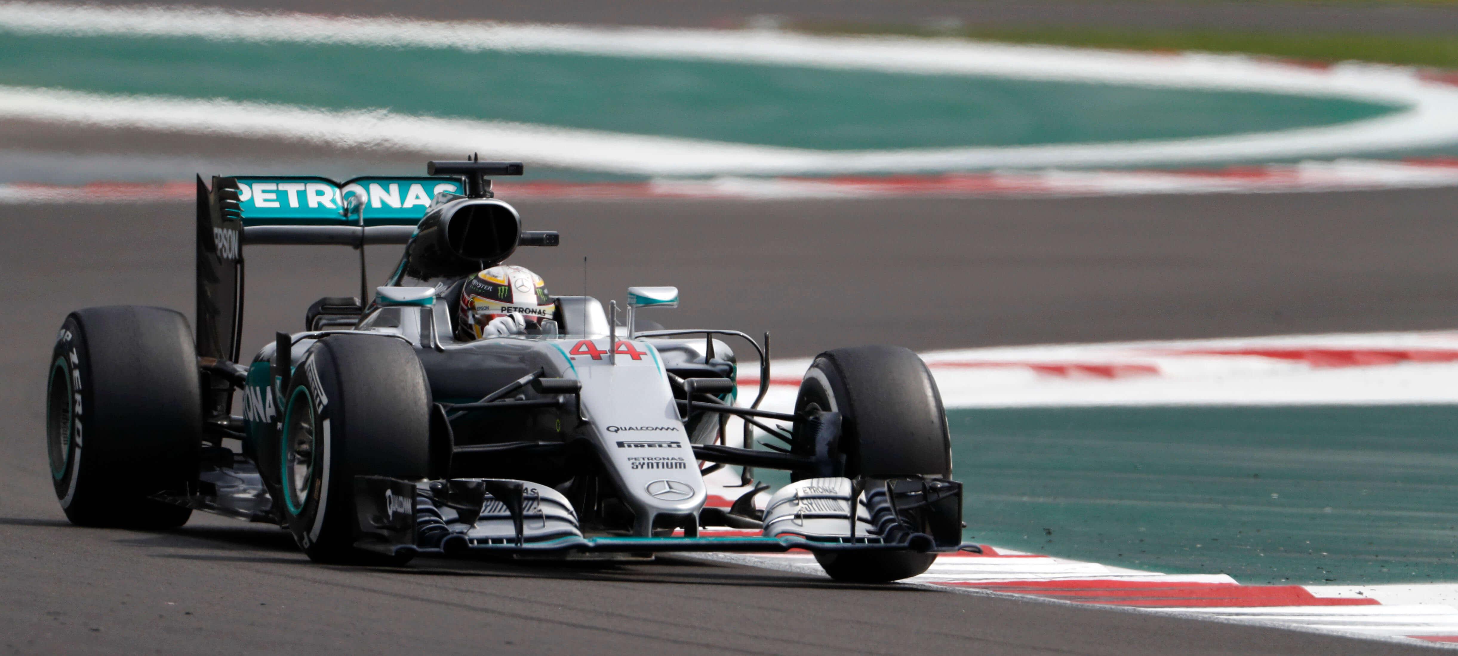 Lewis Hamilton GP México 2016