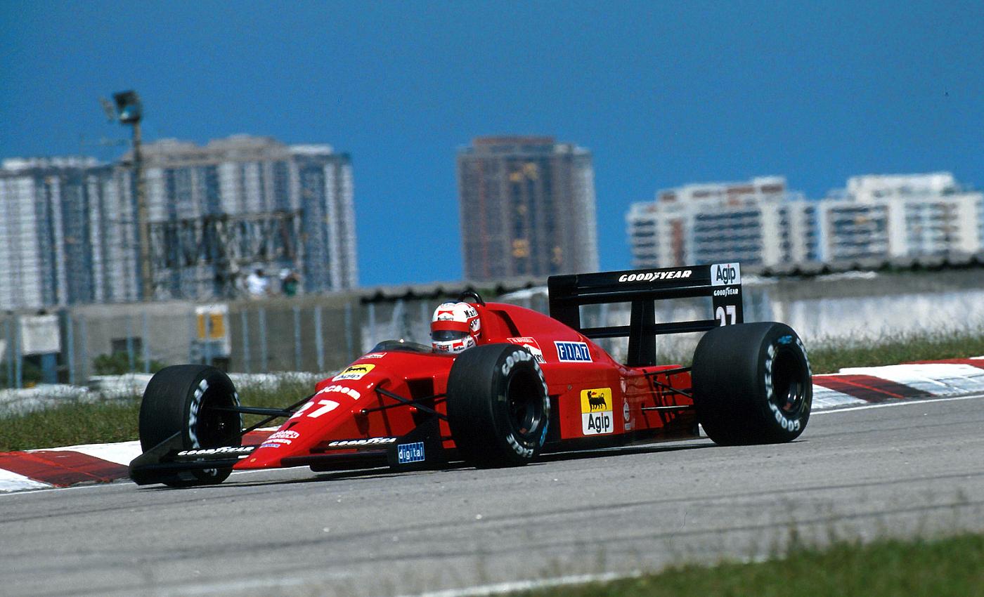 Nigel Mansell GP Brasil 1989