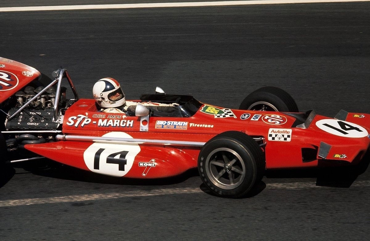 Chris Amon GP Francia 1970