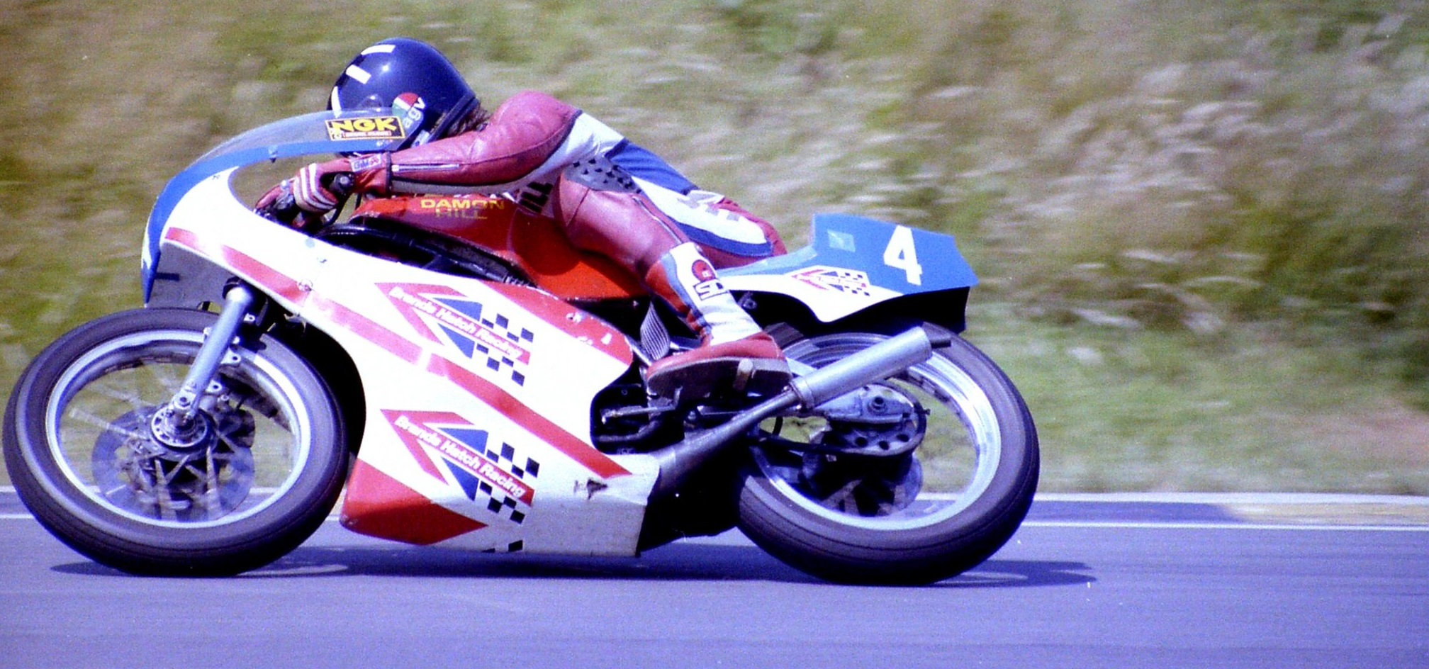 Damon Hill Motociclismo Brands Hatch Racing