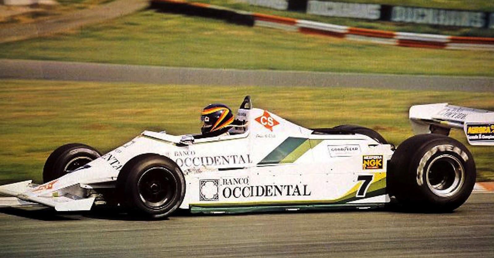 Emilio de Villota 1980 F1 Reino Unido