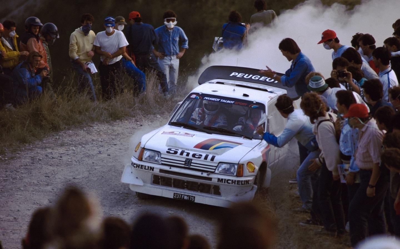 081 - WRC 1986. San Remo. Salonen/Harjanne. Peugeot 205 Turbo 16 EV2.