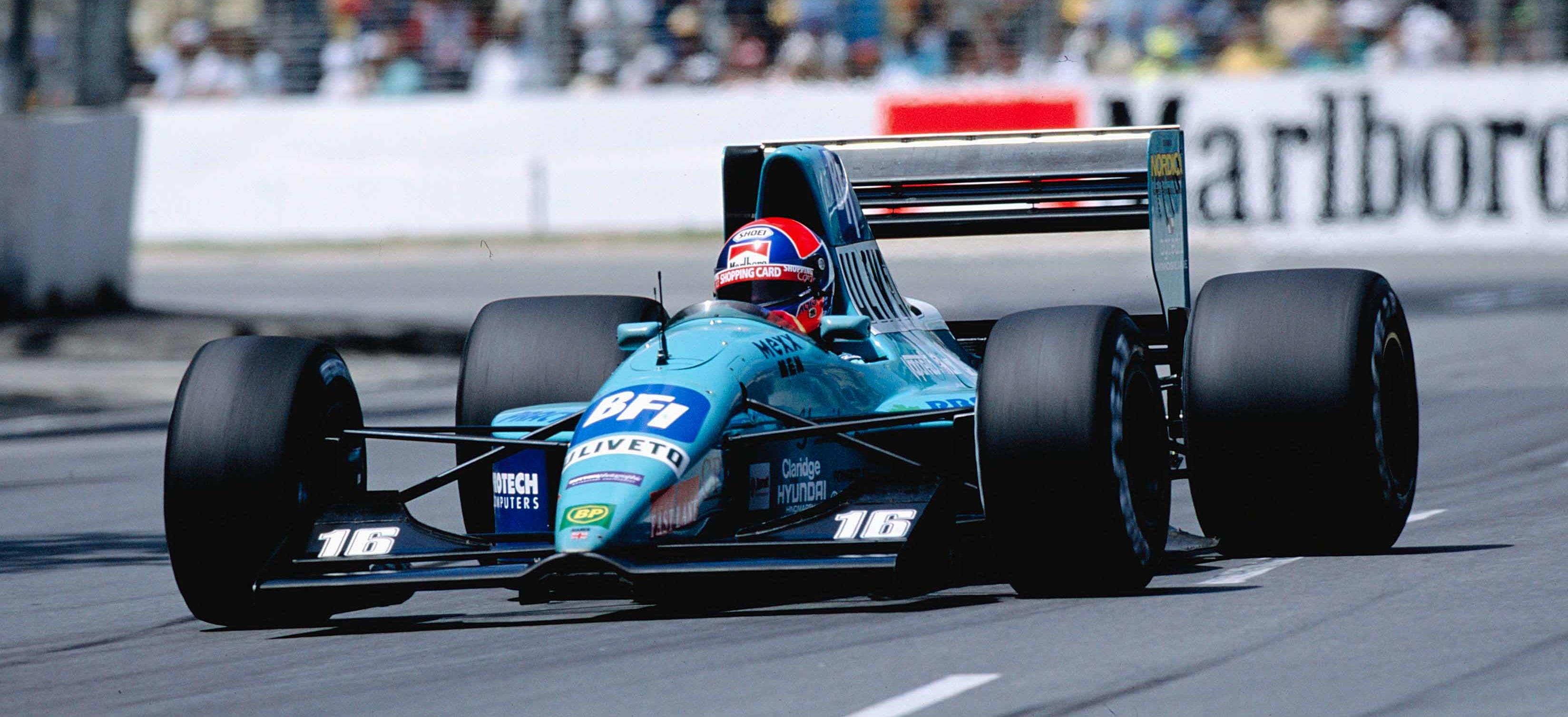 Jan Lammers F1 Adelaide 1992