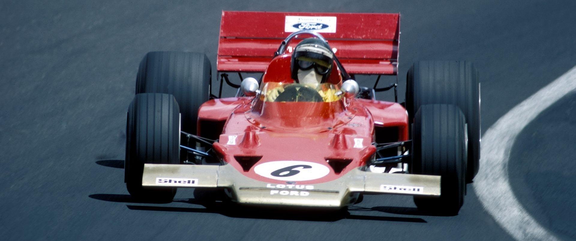 Jochen Rindt F1 1970 Lotus
