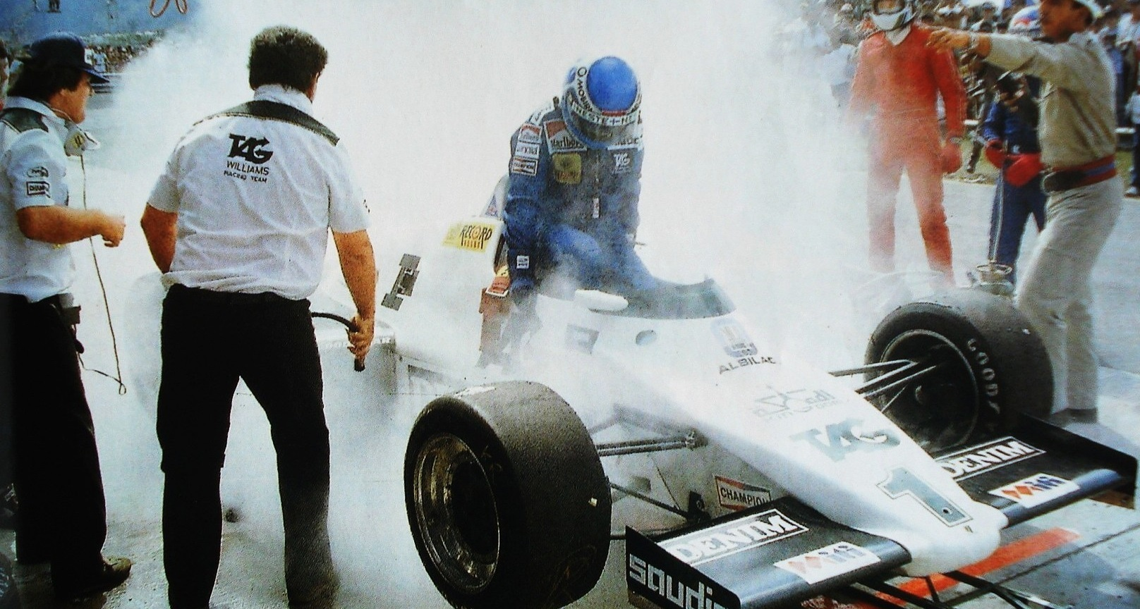 Keke Rosberg 1983 GP Brasil