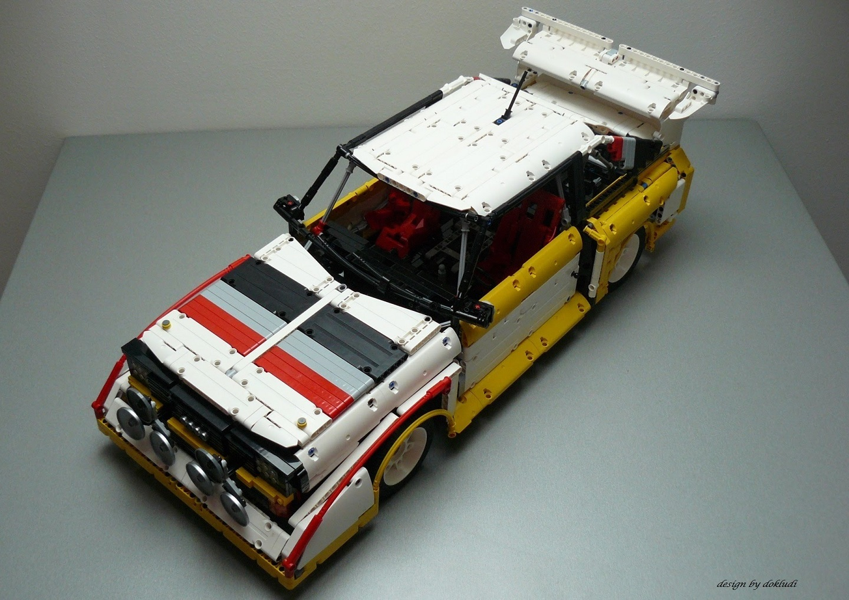 Lego Technic Audi S1 Quattro - Group B Monster - by dokludi (BQ)
