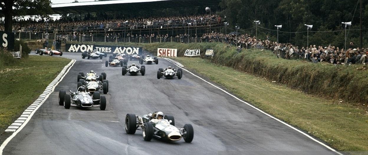 Salida GP Gran Bretaña 1966 Brands Hatch