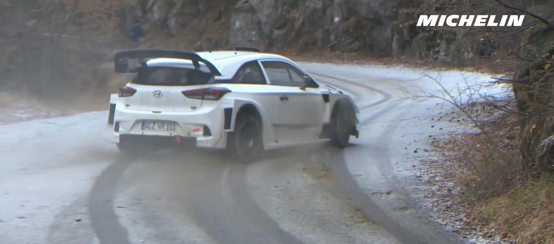 Sordo Testing - 2017 WRC Rallye Monte-Carlo - Michelin Motorsport