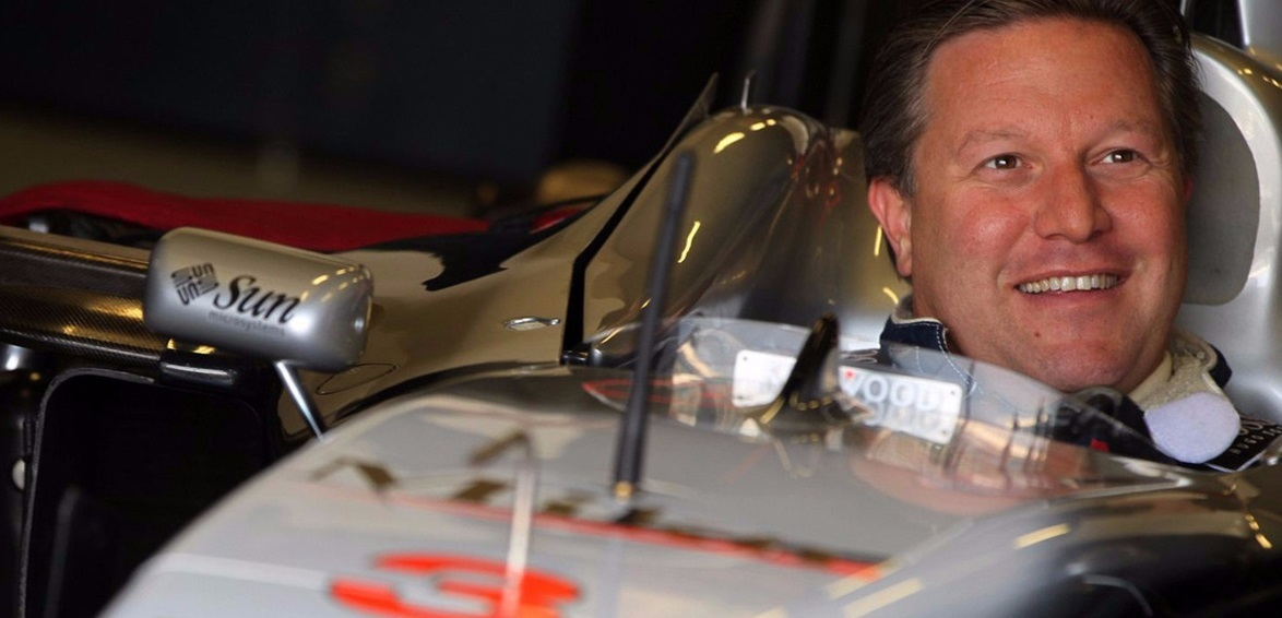 Zak Brown McLaren Häkkinen