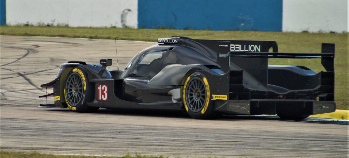 Rebellion test Sebring 2016