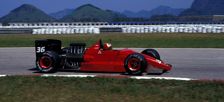 Alex Caffi GP Brasil 1988