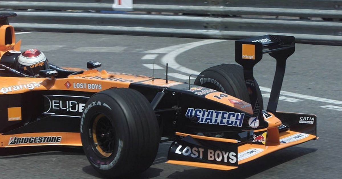 Arrows A22 GP Mónaco 2001