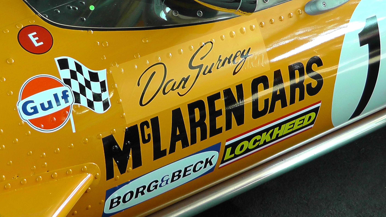 Dan Gurney McLaren