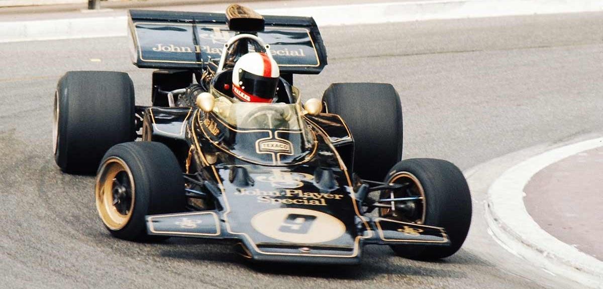 David Walker Lotus 1972 Monaco