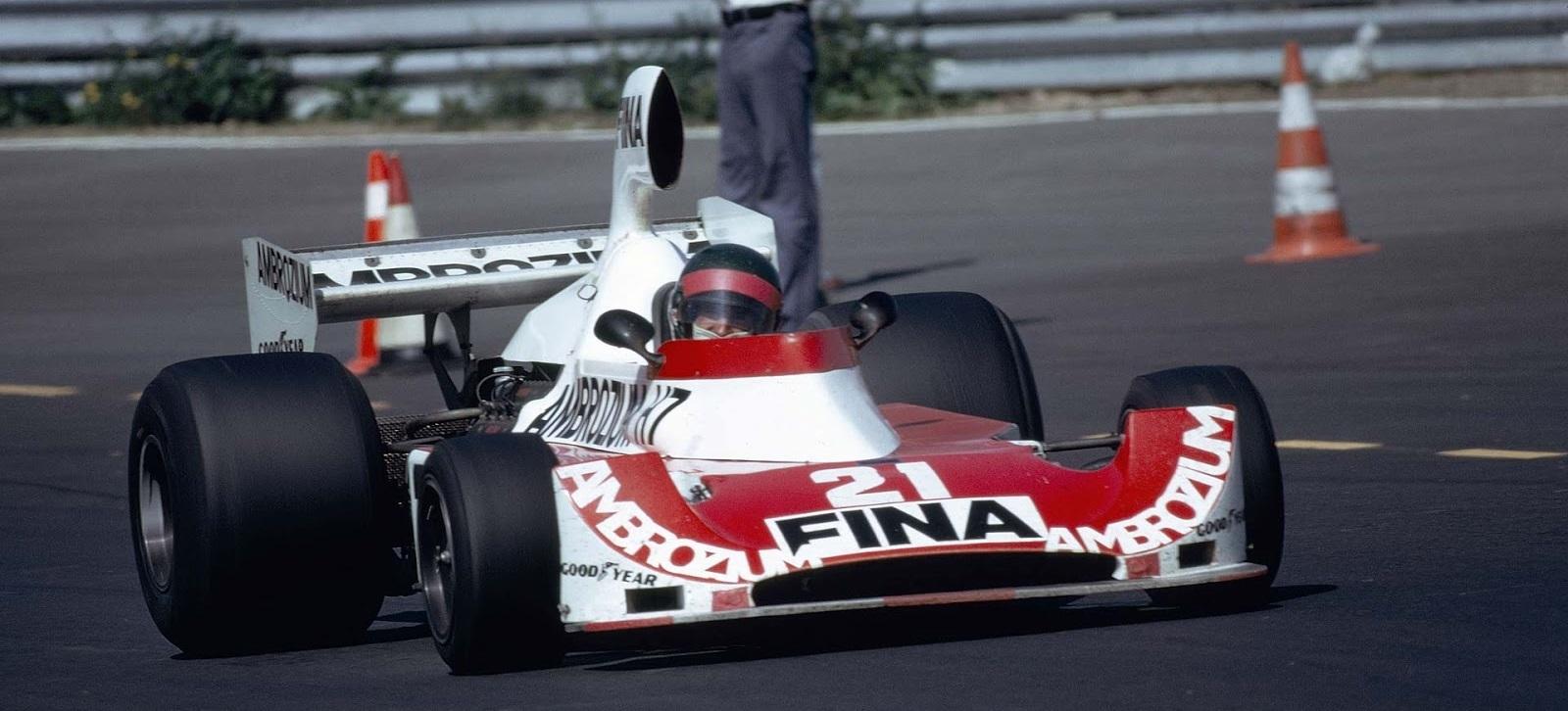 Jacques Laffite Williams 1975 F1