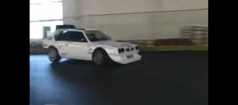 Lancia Delta S4 Indoor Kart Track