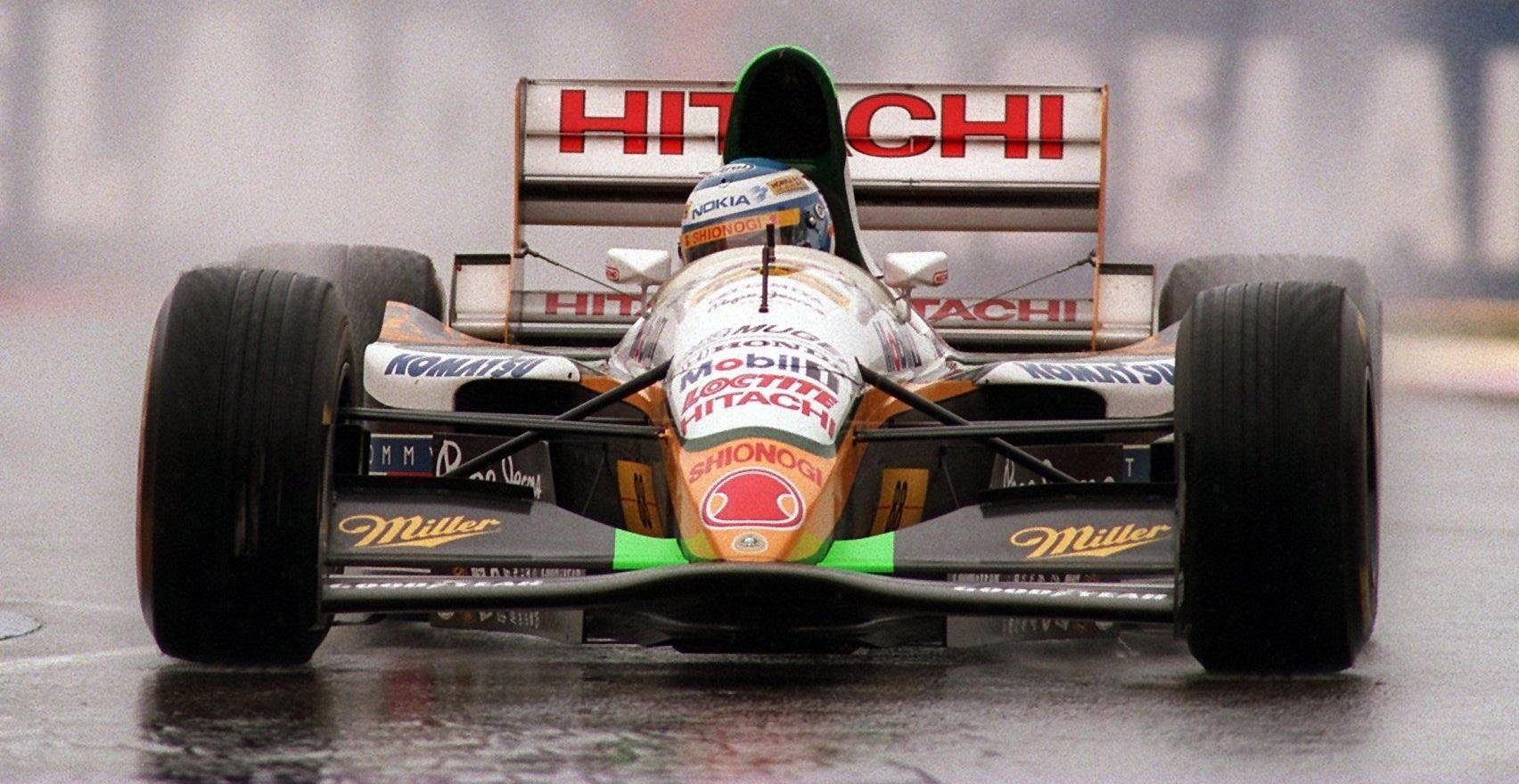 Mika Salo GP Japón 1994 Lotus