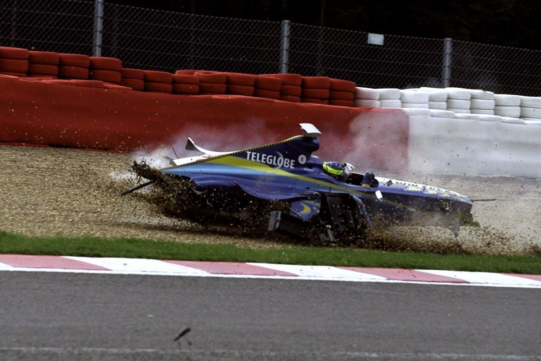 Ricardo Zonta GP Bélgica 1999
