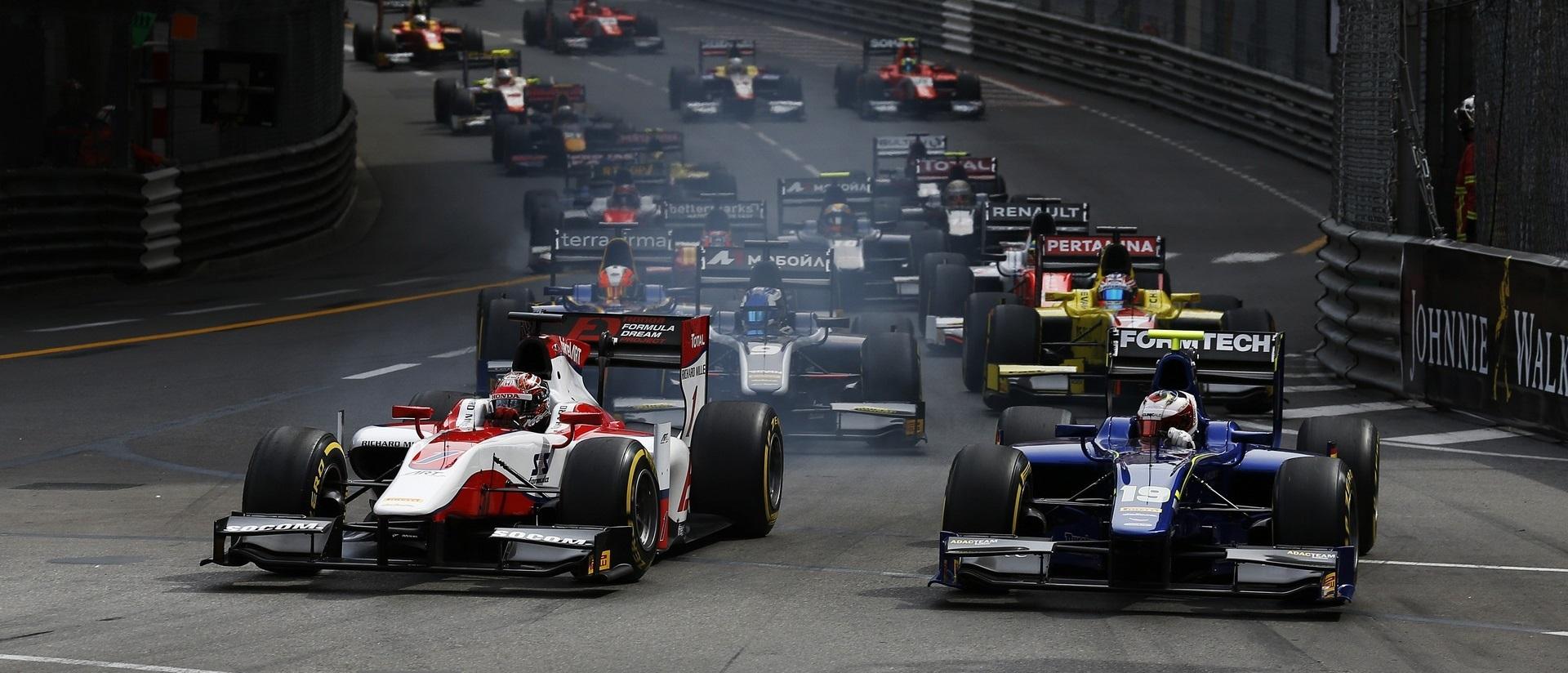 Salida GP2 Mónaco 2016