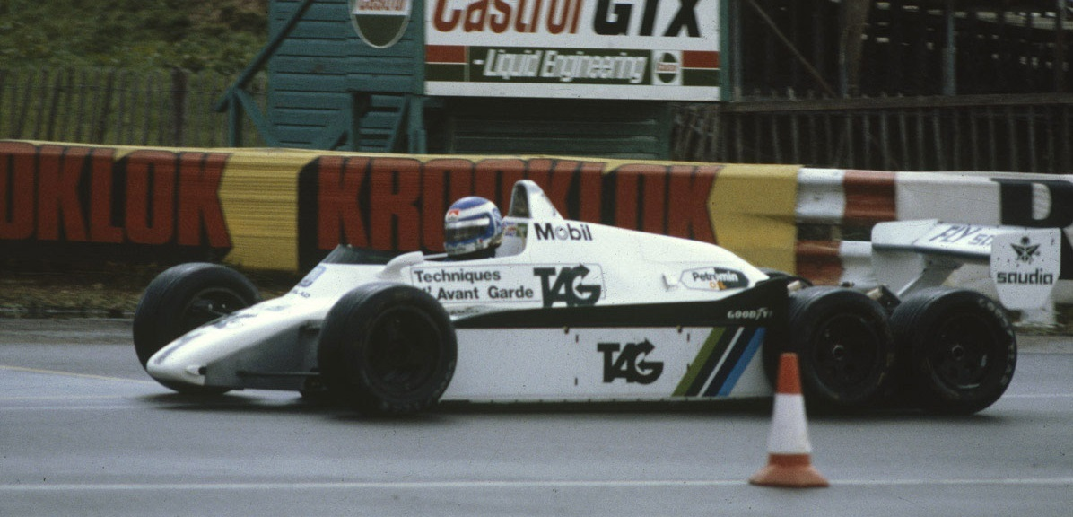 Williams FW08B Rosberg 1982