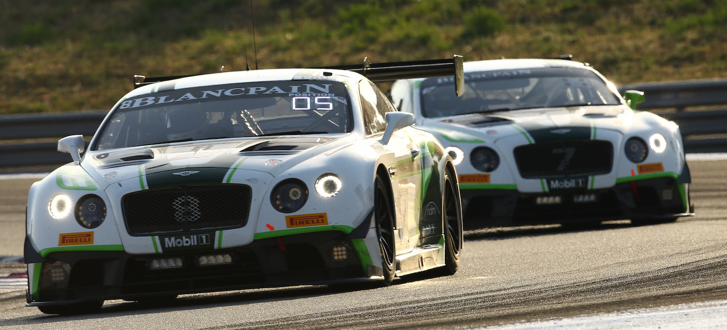 Bentley Continental GT3 2016