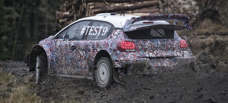 Citroën Test 9 WRC 2017
