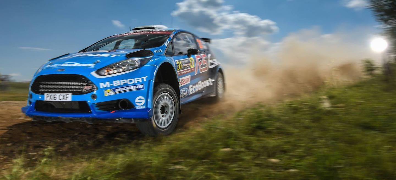 Evans WRC2 2016