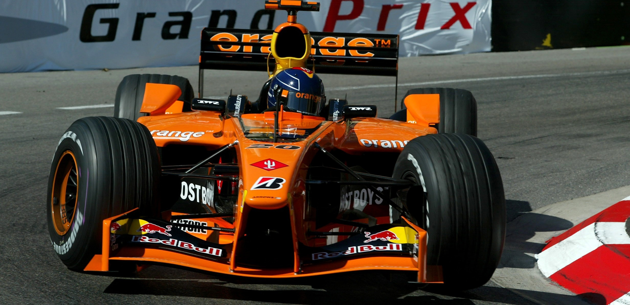 Arrows A23 GP Mónaco 2002
