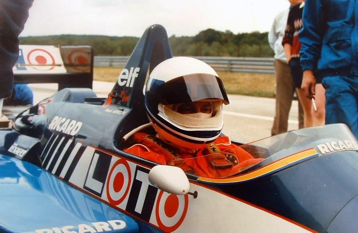 Didier Pironi Test Ligier 1986
