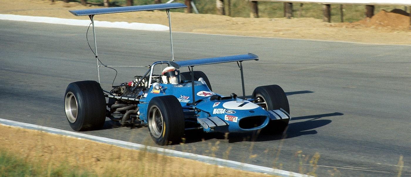 Jackie Stewart GP Suráfrica 1969