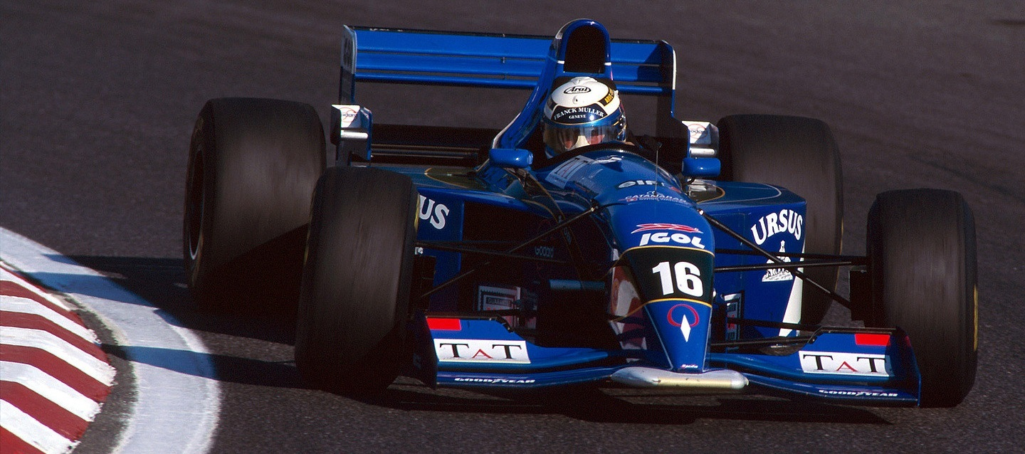 Jean-Denis Délétraz 1995 GP Portugal