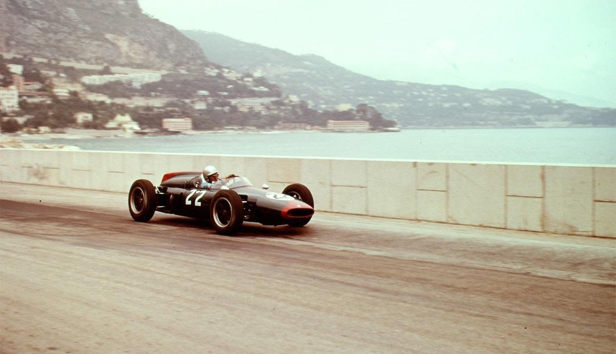 John Surtees 1961 Mónaco Reg Parnell