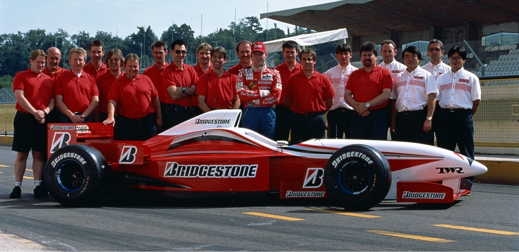 Jos Verstappen Test Bridgestone 1996